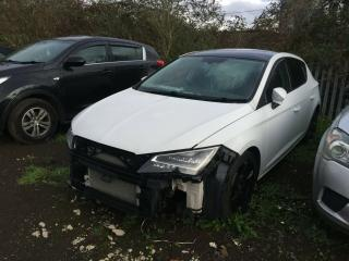 2013 SEAT LEON FR TECH PACK 2.0 TDI 5 DR SALVAGE DAMAGED EASY REPAIR