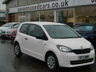 2013 Skoda Citigo 1.0 MPI S 3dr 3 door Hatchback
