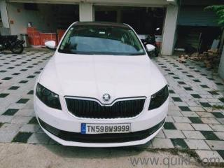 White 2013 Skoda Octavia Elegance 2.0 TDI AT 100000 kms driven in Bye Pass Road