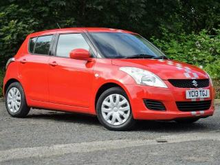 2013 Suzuki Swift 1.2 sz2 mk3 Facelift 5dr Manual Petrol