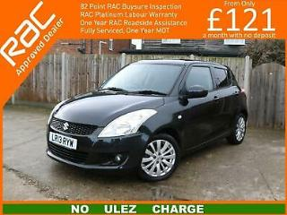 2013 Suzuki Swift 1.2 SZ4 5dr AUTO Rear Parking Sensors Bluetooth USB Input Just
