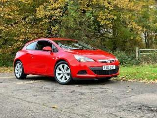 2013 Vauxhall Astra GTC 1.4i Turbo Sport Petrol Manual *ONE OWNER