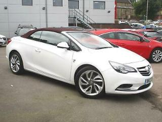 2013 Vauxhall Cascada 1.4T Elite 2dr Sports Petrol Manual