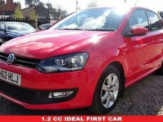 2013 Volkswagen Polo 1.2 MATCH 5d 59 BHP Full VW Service History