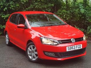 Dec 2013 Volkswagen Polo 1.2 60 Match Edition 5dr