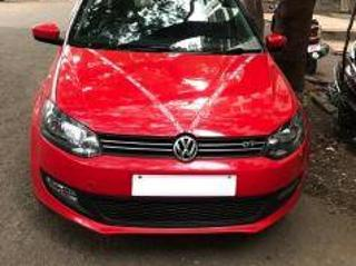 Red 2013 Volkswagen Polo GT TSI 31,000 kms driven in Select Locality