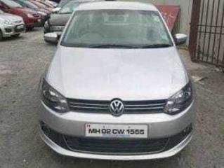 Silver 2013 Volkswagen Vento Highline Plus 1.6 Petrol 74,625 kms driven in Bahul