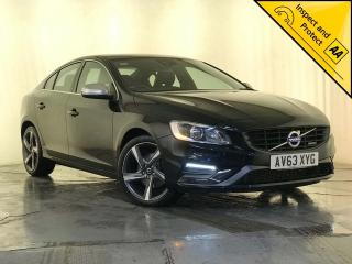 Volvo S60 2.0 D4 R Design 4dr NAV HEATED LEATHER SEATS 2013, 59230 miles, £8000