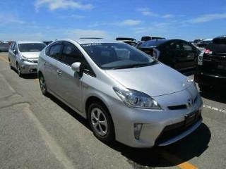 2014/14 TOYOTA PRIUS HYBRID 1800CC SILVER COLOR EURO 6 EMISSION, ARRIVED