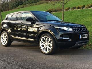 2014/64 RANGE ROVER EVOQUE 2.2 SD4 AUTO 4WD PURE_TECH PACK_PAN ROOF_1 OWNER_FSH