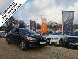 2014 14 CITROEN DS4 1.6 E HDI AIRDREAM DSTYLE 5DR 115 BHP 27K MILES