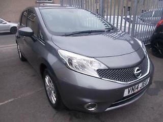 2014 14 Nissan Note 1.2 80ps Style Pack Acenta Premium Grey Metallic