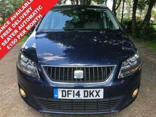 2014 14 SEAT ALHAMBRA 2.0 CR TDI SE DSG 5D AUTO 140 BHP AUTOMATIC MINT CONDITION