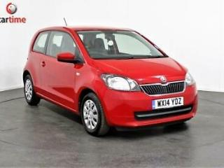2014 14 SKODA CITIGO 1.0 SE GREENTECH 3D 59 BHP AIR CON CD PLAYER FREE ROAD TAX