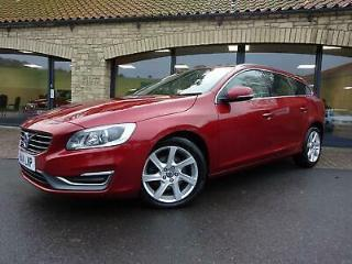 2014 14 Volvo V60 2.0TD D3 SE Lux HEATED LEATHER, £30 TAX
