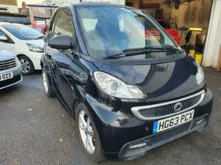 2014 63 SMART FORTWO 1.0 EDITION 21 MHD 2D AUTO 71 BHP
