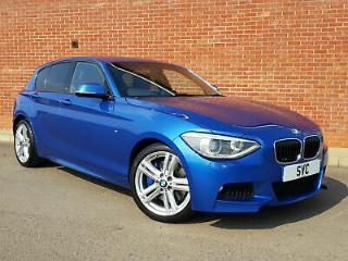 2014 64 BMW 1 Series 125 D M Sport 218bhp 5 Door Manual. Not 118 120 123