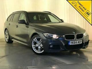 2014 64 BMW 320D M SPORT TOURING AUTO NAV HEATED LEATHER SEATS SERVICE HISTORY