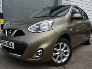 2014 64 NISSAN MICRA 1.2 ACENTA 5D 1 OWNER 30 ROAD TAX BLUETOOTH CRUISE CONTROL