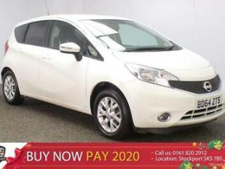 2014 64 NISSAN NOTE 1.2 ACENTA 5DR 80 BHP