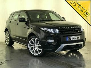 2014 64 RANGE ROVER EVOQUE DYNAMIC LUX SD4 SAT NAV HEATED SEATS SERVICE HISTORY