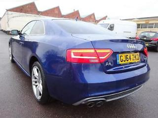 2014 64 REG AUDI A5 S LINE 2.0TDI DIESEL COUPE DAMAGED SALVAGE