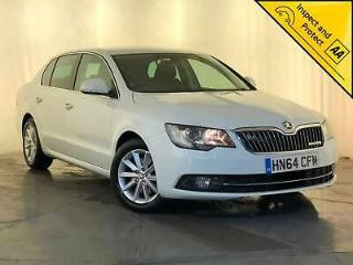 2014 64 SKODA SUPERB SE BUSINESS TDI £20 ROAD TAX PARKING SENSORS SAT NAV