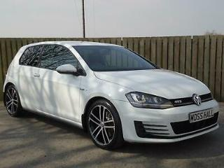 2014 64 Volkswagen Golf 2.0TDI 184ps BMT GTD White
