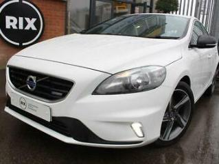 2014 64 VOLVO V40 1.6 D2 R DESIGN 5D 0 ROAD TAX BLUETOOTH HALF LEATHER CRUISE CO