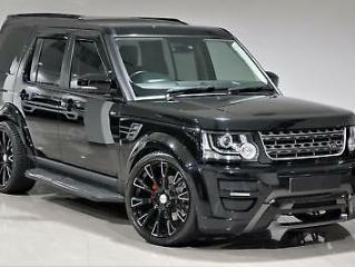 2014 Black Land Rover Discovery 4 3.0SD V6 255bhp XS WIDEARCH CONVERSION KIT