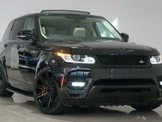 2014 Black Land Rover Range Rover Sport 3.0SD V6 Auto HSE AUTOBIOGRAPHY STYLING