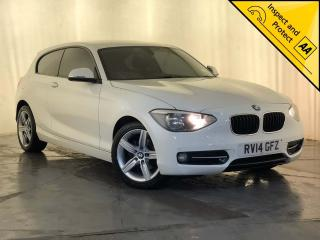 BMW 1 Series 1.6 116i Sport Sports Hatch s/s 3dr HEATED BLACK LEATHER SEATS 2014, 49180 miles, £8000