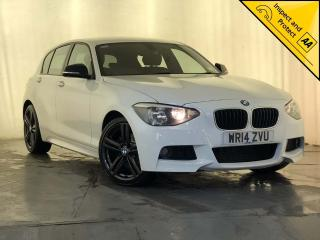 BMW 1 Series 2.0 120d M Sport Sports Hatch s/s 5dr £30 ROAD TAX SERVICE HISTORY 2014, 85540 miles, £8500