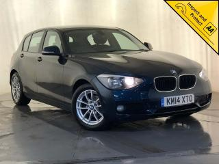 BMW 1 Series 1.6 116d EfficientDynamics Sports Hatch s/s 5dr SAT NAV 1 OWNER SVC HISTORY 2014, 98440 miles, £6295
