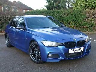 2014 BMW 320d M Sport Individual Diesel Auto Estoril Blue Fully Loaded Navigatio