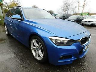 2014 BMW 3 SERIES 320D M SPORT TOURING SUPERB SERVICE HISTORY! ESTATE DIESEL