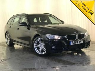 BMW 3 Series 2.0 320d M Sport Touring s/s 5dr 1 OWNER, SERVICE HISTORY 2014, 98720 miles, £10000
