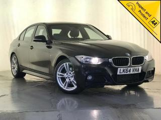 BMW 3 Series 2.0 320d M Sport s/s 4dr 1 OWNER £30 ROAD TAX 2014, 95820 miles, £11000