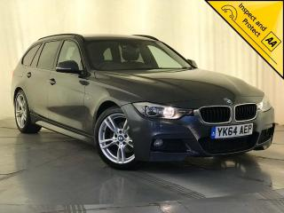 BMW 3 Series 2.0 320d M Sport Touring s/s 5dr NAV HEATED SEATS SVC HISTORY 2014, 86400 miles, £11000
