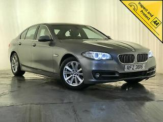 2014 BMW 520D SE DIESEL LEATHER INTERIOR £30 ROAD TAX SAT NAV SERVICE HISTORY
