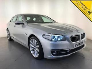 2014 BMW 525D LUXURY DIESEL SALOON SAT NAV 1 OWNER FROM NEW SERVICE HISTORY