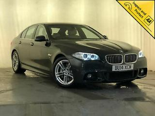 2014 BMW 530D M SPORT AUTOMATIC SAT NAV SUNROOF HEATED SEATS SERVICE HISTORY