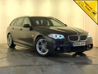 BMW 5 Series 2.0 520d M Sport Touring 5dr SAT NAV, AUTO, HEATED SEATS 2014, 128770 miles, £9695
