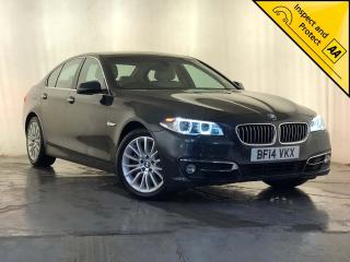 BMW 5 Series 3.0 530d Luxury 4dr LEATHER SEATS SERVICE HISTORY 2014, 82180 miles, £12795