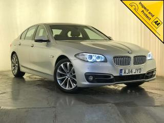 BMW 5 Series 2.0 518d Modern 4dr 1 OWNER SERVICE HISTORY 2014, 102230 miles, £9295
