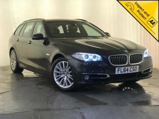 BMW 5 Series 2.0 520d Luxury Touring 5dr SAT NAV SERVICE HISTORY 2014, 110350 miles, £9500