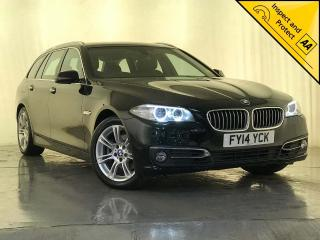 BMW 5 Series 2.0 520d Luxury Touring 5dr SAT NAV SERVICE HISTORY 2014, 74490 miles, £11000