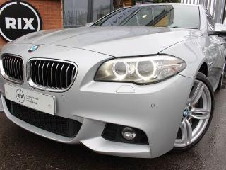 BMW 5 Series 3.0 535D M SPORT 4d AUTO PROFESSIONAL NAVIGATION UPGRADE 19 ALLOYS BLUETOOTH CRUISE CONTROL PARKING Saloon 2014, 42000 miles, £17990