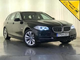 BMW 5 Series 2.0 520d SE Touring 5dr 1 OWNER SERVICE HISTORY 2014, 107010 miles, £9500