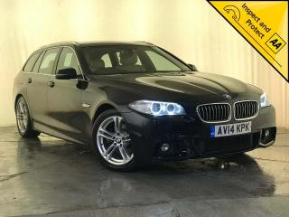 BMW 5 Series 2.0 520d M Sport Touring 5dr 1 OWNER SERVICE HISTORY 2014, 101640 miles, £10495